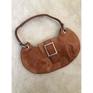 Kenneth Cole brown leather purse.